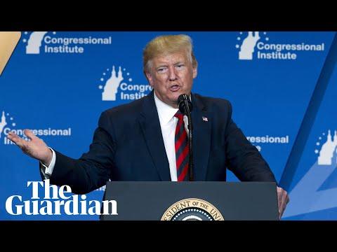 Donald Trump blames lightbulbs for his orange hue