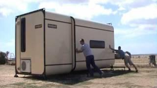 saspodTM Accommodation, Service and Storage Video