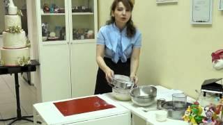 4й урок 'Без правильной мастики Вы испортите весь торт' от Наиры Сироян