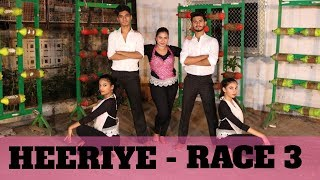 HEERIYE | RACE 3 | DANCE COVER | CHOREOGRAPHY BY ENETTE DSOUZA