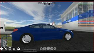 I bought a BMW M6 in roblox vestibule simulator.