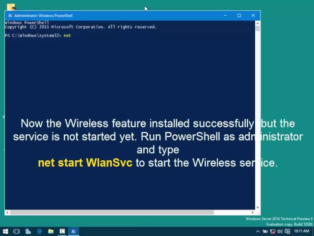 How to Enable Wireless in Windows Server 2016? - TECHNIG