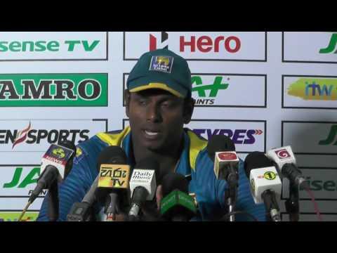 2nd ODI Post Match Press Conference - Angelo Mathews & Steve Smith