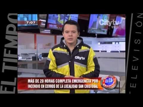 Incendio en SanCristobal | CityTv | Arriba Bogotá| Febrero 2