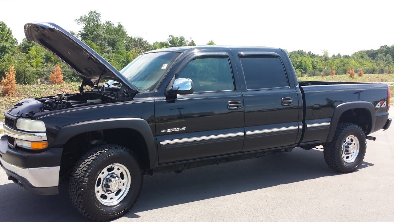 sold 2002 CHEVROLET SILVERADO HD CREW CAB LS 4X4 8 1L V8 163K FOR