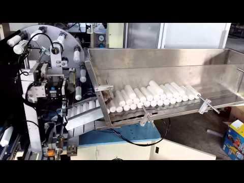 Automatic Soft Tube Screen Printing Machine Wtih Auto Feeder
