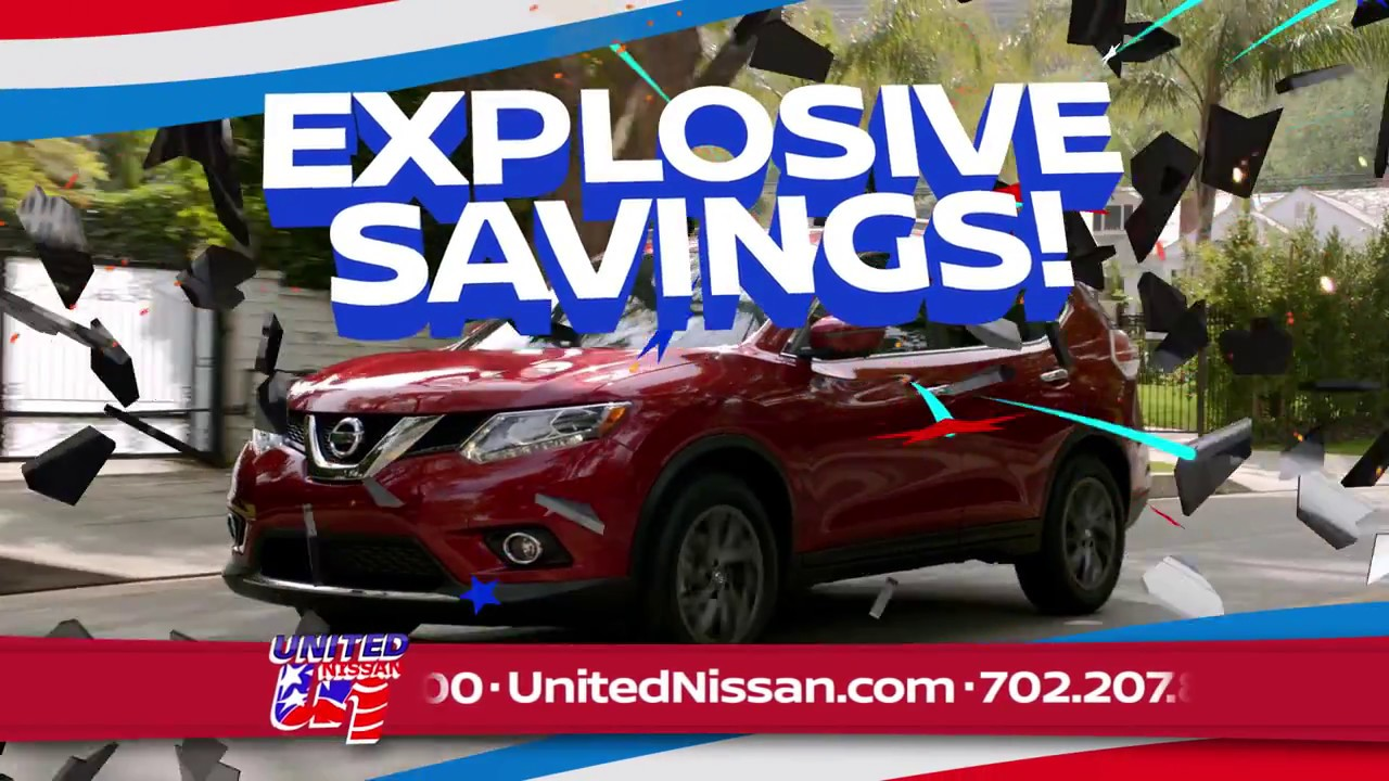United Nissan - Fourth of July Sale 2017 (English) - YouTube