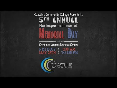 Veterans BBQ at Coastline College - May 26, 2017