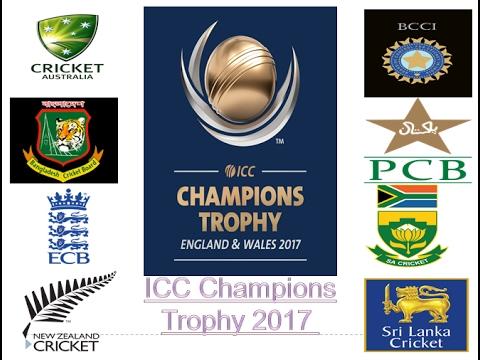 2017 ICC Champions Trophy Ll Icc Champion Team List CC Schedule
