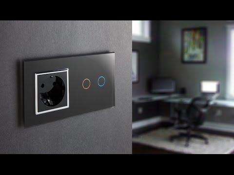 Сенсорный выключатель из китая  Livolo Ливоло  - умный дом