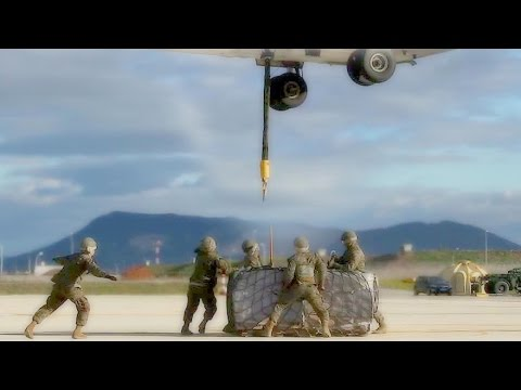 U.S. Marines - MV-22 Osprey External-Load Lift