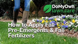 How to Apply Fall Pre-Emergents with Fall Fertilizers