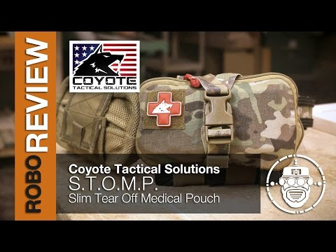 Robo-Airsoft: Robo Gear Review - My trauma equipment - Coyote Tactical Solutions STOMP