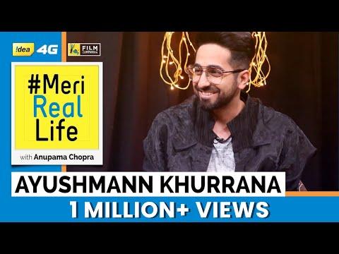 Meri Real Life | Ayushmann Khurrana | Idea 4G | Anupama Chopra | Film Companion