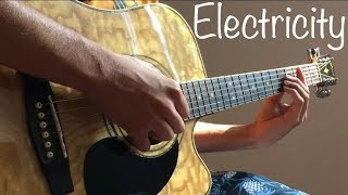 Electricity - Silk City, Dua Lipa ft. Diplo, Mark Ronson (Acoustic Guitar Cover) Video