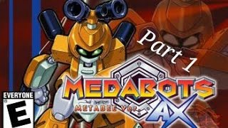 Medabots AX - Metabee Version (GBA) - Part 1