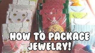 HOW TO - Package Jewelry Necklaces