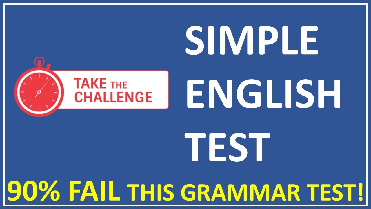 Can you pass this grammar quiz | Very few can face this grammar test challenge | Fun Grammar Quiz