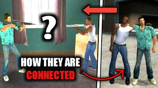 How All GTA Games Are CONNECTED ? | All References in GTA