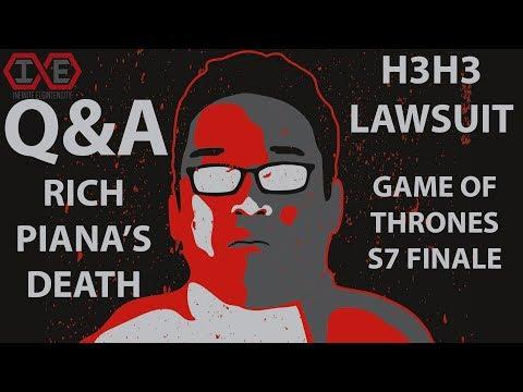 Q&A: Rich Piana's Death & Estate, h3h3 Lawsuit, and More