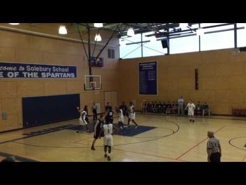 The Hill School vs Solebury School Highlights: Final 78-56