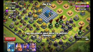 200 Max Electro Dragon Attac To This COC Private Server Base | Wolf Gaming | Clash of clans private