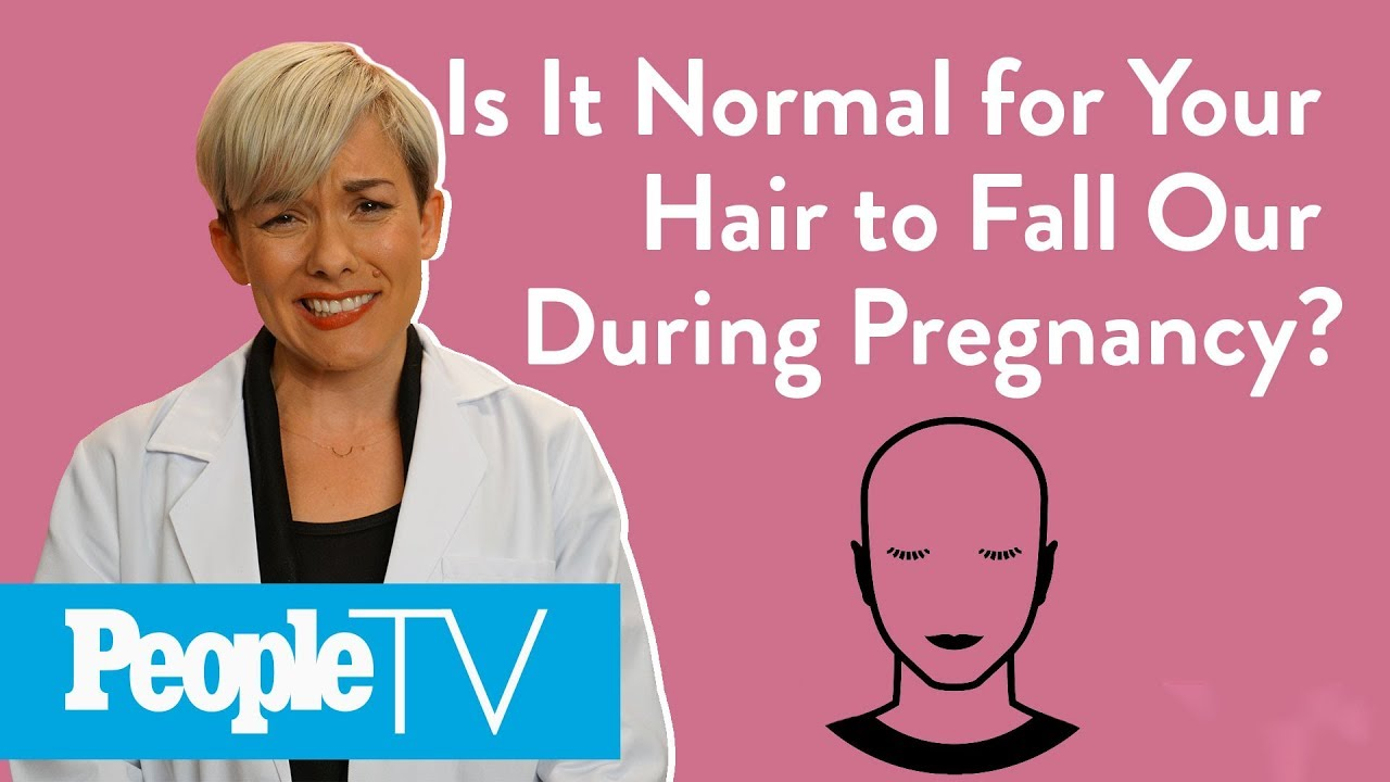 Is It Normal For Your Hair To Fall Out During Pregnancy ...