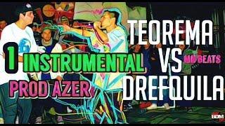 teorema vs drefquila aczino vs drefquila primera instrumental bdm 2016 descarga beat n 100