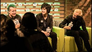 Green Day Wrigley Field Press Conference In The Lounge