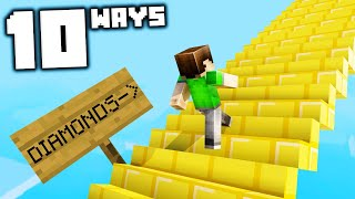 Download 10 Staircases to Mess With Your Friends in Minecraft! Mp3 and Videos