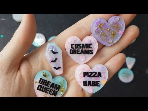 Watch Me Resin #9 | Pouring and Demolding Resin Charms | Seriously Creative