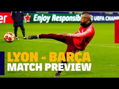 LYON 0-0 BARÇA | Match preview #UCL