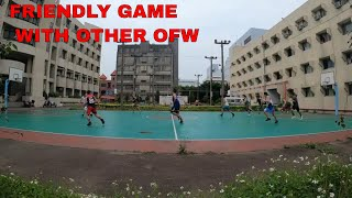 FRIENDLY GAME with other ofw in TAIWAN
