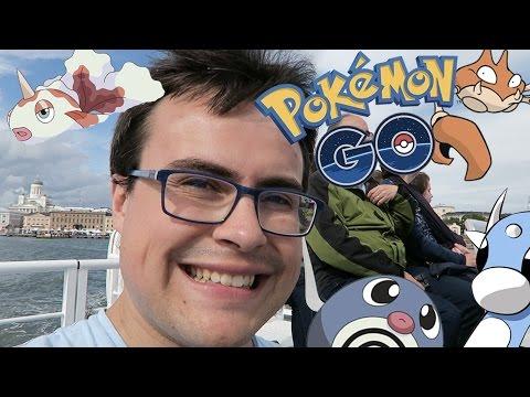 Cazando POKÉMON en BARCO por HELSINKI | Pokémon Go | Mobile Gaming con TheAlvaro845 | Español