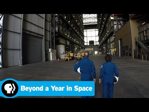 BEYOND A YEAR IN SPACE | Touring Kennedy Space Center | PBS