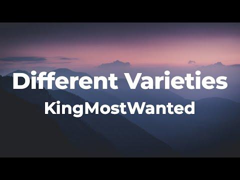KingMostWanted - Different Varieties (Lyrics) | Panoramic B, ooh, Panoramic
