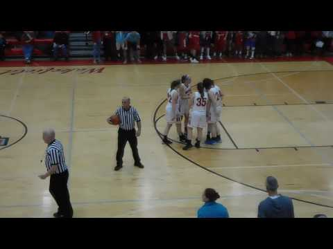 Wakefield 51 Melrose 50 Girls Basketball - End of Game