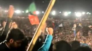 Imran Khan de Jalsey wich mera nachney noon Jee karda ae - Bhangra Song PTI