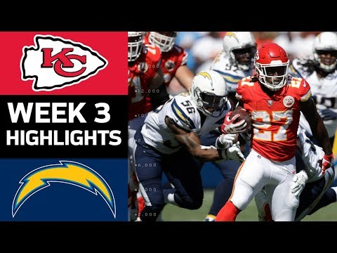 Chiefs vs. Chargers | NFL Week 3 Game Highlights