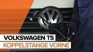 Wie VW TRANSPORTER V Platform/Chassis (7JD, 7JE, 7JL, 7JY, 7JZ, 7FD) Pendelstütze auswechseln - Tutorial