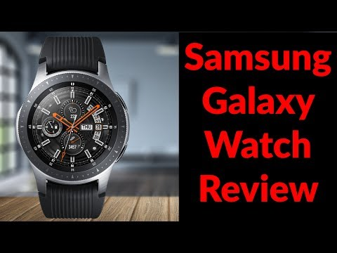 Samsung Galaxy Watch Review - Best Smartwatch Ive Ever Owned - YouTube Tech Guy