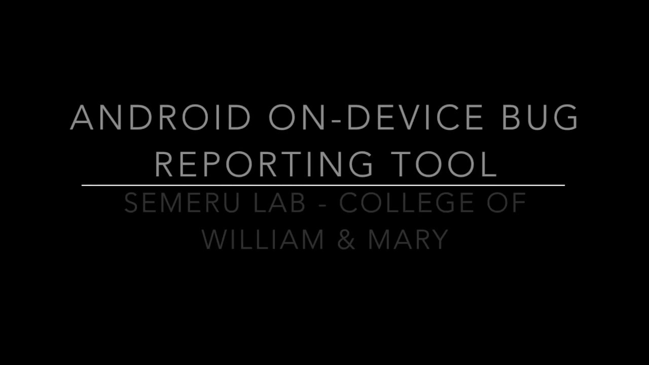ODBR — SEMERU Android Developer Tools