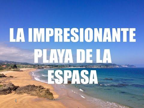 Guia de Viaje Asturias - La Impresionante Playa de La Espasa