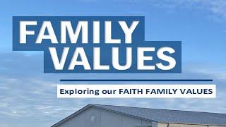 Family Values: Community | Sunday, October 24, 2021