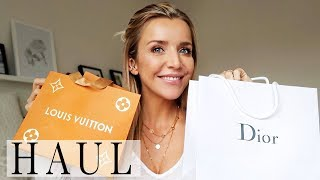 FASHION & BEAUTY Haul 2018 | DIOR, URBAN OUTFITTERS, LOUIS VUITTON  | WAS ICH DIE TAGE GEKAUFT HABE