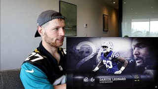 Rugby Player Reacts to DARIUS LEONARD (LB, Colts) #26 The NFL's Top 100 Players of 2019!