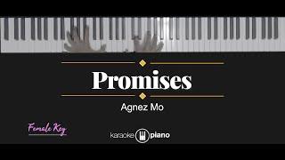 Promises - Agnez Mo (KARAOKE PIANO - FEMALE KEY)