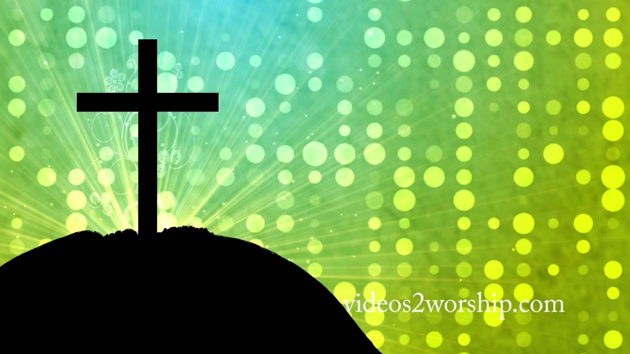 cross worship motion background for easter youtube