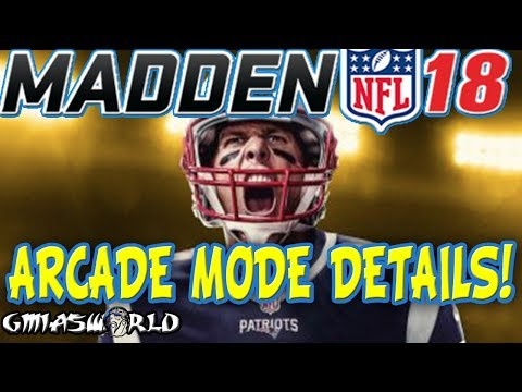 Madden 18 Gameplay Features ARCADE Mode Which Promotes Broken Tackles, High Scoring & Ridiculousness
