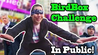Download Qpark - BIRD BOX Challenge in PUBLIC!!